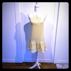 Juicy couture yellow terry cloth beach Cover up